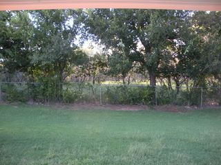 View Out Back Door